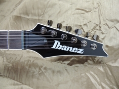 I've always loved the Ibanez headstock. This one is clean, simple, and elegant.