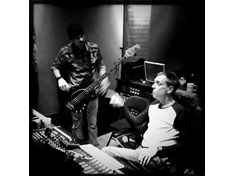 "Recording the PictureYes album ""Rival"" at the Pop Machine studio with the badass producer/bass player Eric Johnson."
